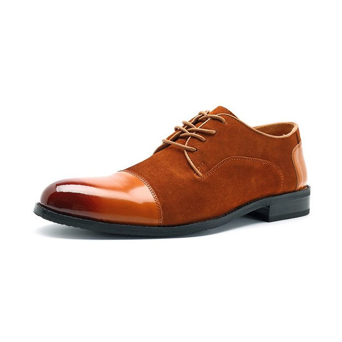 Homens Soft Suede Leather Business Formal Shoes