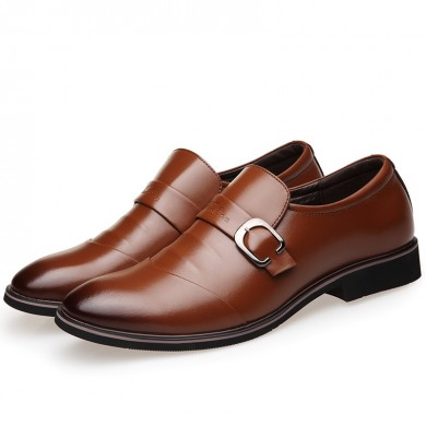 Men Soft Slip On Business Shoes Men Leather Formal Shoes