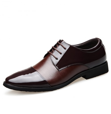 Men Soft Leather Business Formal Shoes