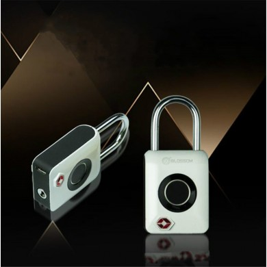 Intelligent Fingerprint Padlock TSA Certification Travel Luggage Suitcase Lock Waterproof Anti-Theft