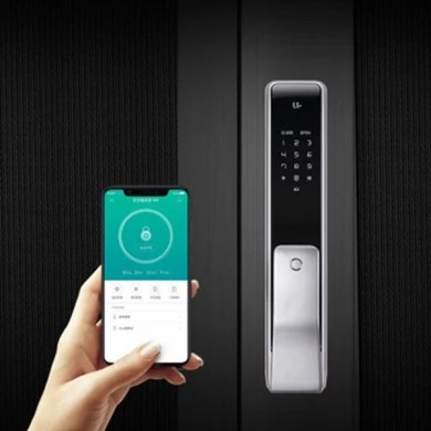 XIAOMI YOUDIAN M2 Smart Automatic Fingerprint Sliding Lock Password Keyless Intelligent Security Door Lock