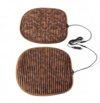 46*46cm Car Flannel Heated Seat Cushion Seat Warmer Winter Household Cover Electric Heating Mat
