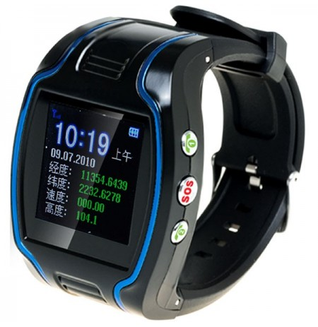 Watch Wristwatch GPS GSM GPRS Tracker TK109 for Child Kid Elderly