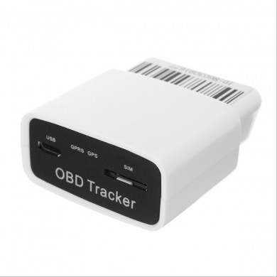 OBD2 OBD 16 PIN Auto Car GPS Tracker Locator with Web Vehicle Fleet Management System