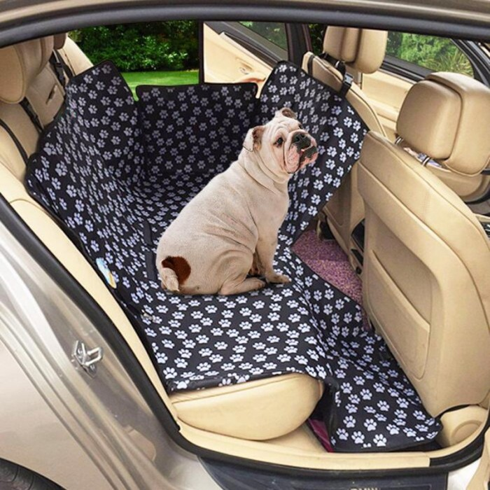 Pleasant Oxford Cat Claws Pattern Car Rear Back Seat Pet Mat Dog Cat Cushion Seat Cover Waterproof Onthecornerstone Fun Painted Chair Ideas Images Onthecornerstoneorg