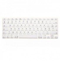Translucent Colorful Silicone Keyboard Protective Film For Macbook13.3 15.4 European Version French