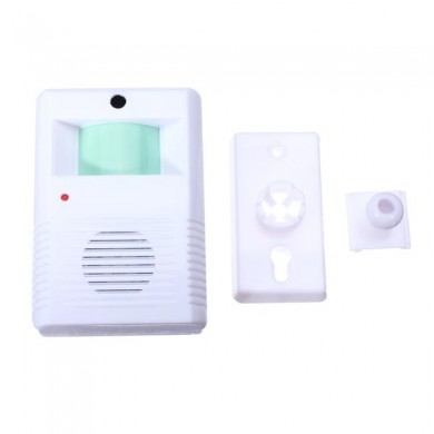 Chime Welcome Door Bell Motion Sensor Wireless Alarm