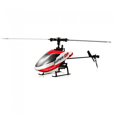 Walkera Super CP 6CH 3D Flybarless 3-Axis-Gyro RC Helicopter BNF