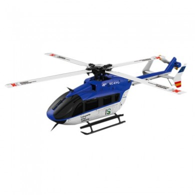 Xk K124 6ch brushless 3d6g EC145 sistema rc elicottero BNF