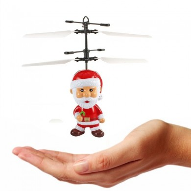 Induzido Flying Santa Claus Inductive Toy Christmas Gift for Kid
