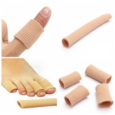 3PCS Gel Fabric-Covered Toes Fingers Tube Bunion Protector Calluses