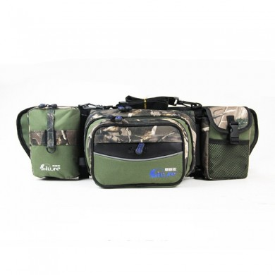 61x18x14 CM Multifunctional Fishing Rod Bag Waist Bag Fishing Tackle Bag