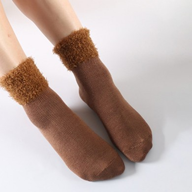 Women Winter Warm Thick Cotton Tube Socks