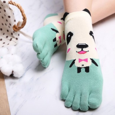 5 Pair Women Winter Warm Thicken Cotton Ski Toe Socks