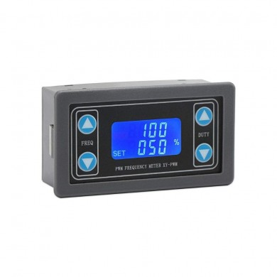 XY-PWM DC3.3-30V 1Hz~150KHz Digital Display Square Wave Rectangular Wave Pulse Signal Generator