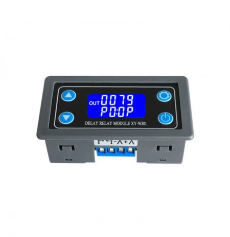 XY-WJ01 DC6-30V AC220 One Way Relay Module Trigger Delay Loop Timing Circuit Switch Electrical Equipment Supplies