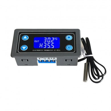 XY-WT01 Digital Thermostat Switch Display Temperature Controller Module Cooling Heating 6V12V24V Adjustable