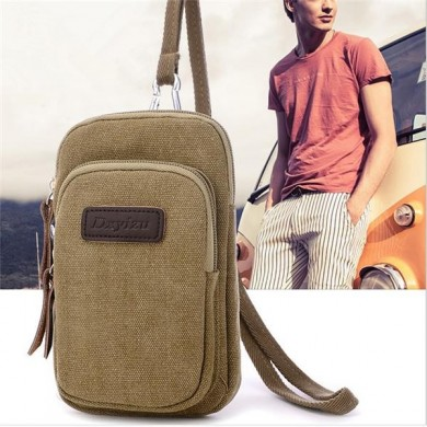 Universal Sport Outdoor Mini Belt Waist Bag Hanging Neck Pouch For Phone Under 5.5 Inch