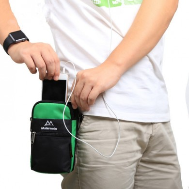 Maleroads Waterproof Waist Bag Phone Bag Outdooors Travel Storage Case for under 6 inches Smartphone