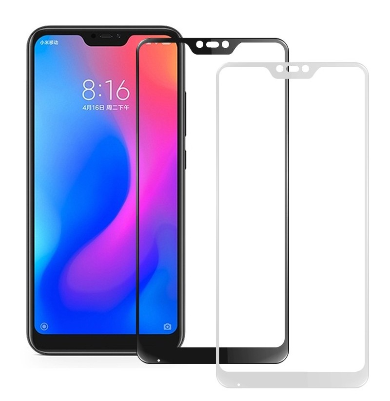 Bakeey Anti-Explosion Full Cover Tempered Glass Screen Protector For Xiaomi Mi A2 Lite / Redmi 6 Pro (Color: white) фото