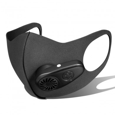 BIKIGHT Protective Face Mask PM2.5 Filter Dust Mask Outdoor Riding Anti-Pollution Respirator Breathing Purifier