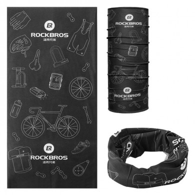 ROCKBROS TJ-001 Cycling Outdoor Sport Scarf Plus Samt Warm halten Flexibel Atmungsaktiv