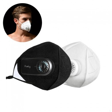 Xiaomi Purely Fresh Air Mask PM2.5 Filter Anti-Pollution Respirator USB Rechargeable 3 Modes Wind Speed Anti Dust Breathing Face