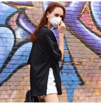 Xiaomi Purely Fresh Air Mask PM2.5 Filtre Anti-Pollution Respirateur USB Rechargeable 3 Modes Vent Vitesse Anti-Poussière Respir