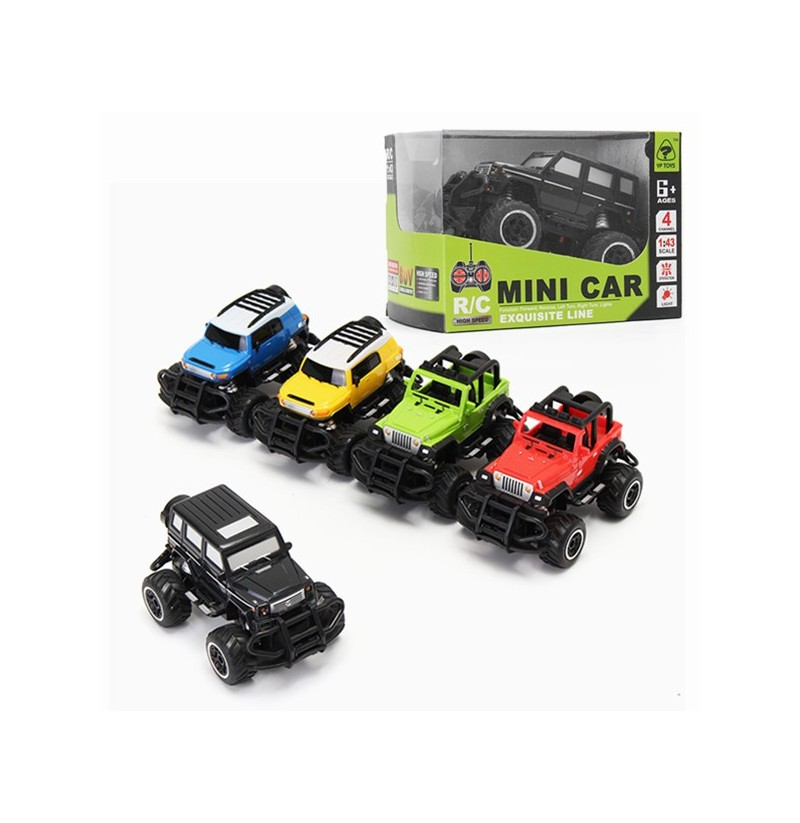 1:43 Four Channel RC Car Mini Off-road Vehicle 6146 Remote RC Car (Color: Green) фото