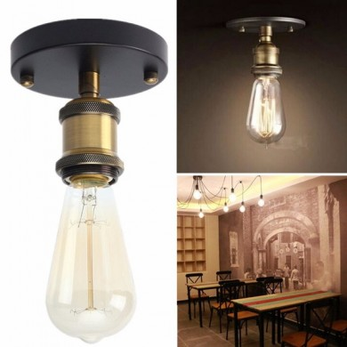 Coppor Edison Industrie Rustic Sconce Wand Licht Lampe E27 Jahrgang