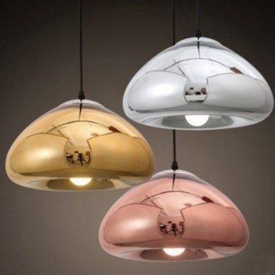 Simple Modern Glass Pendant Lamp Fixture for Kitchen Restaurant Cafe Bar AC220V
