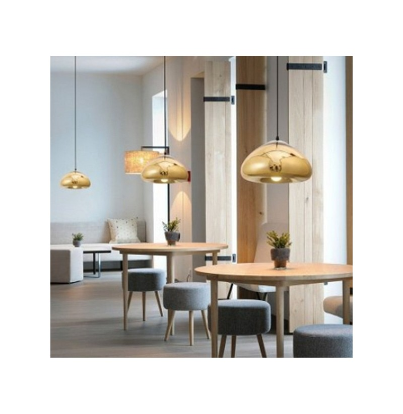 Simple Modern Glass Pendant Lamp Fixture For Kitchen