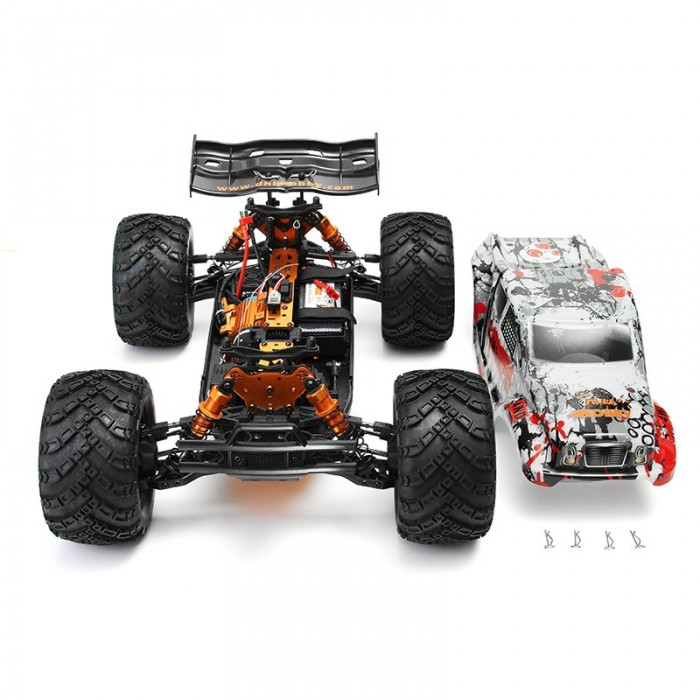 Dhk Hobby Zombie 8e 8384 1 8 100a 4wd Brushless Monster Truck Rtr Rc Car