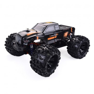 2 Batteri ZD Racing MT8 Pirates3 1/8 2.4G 4WD 90km / h Elektrisk Brushless RC Bil Metall Chassi RTR Modell