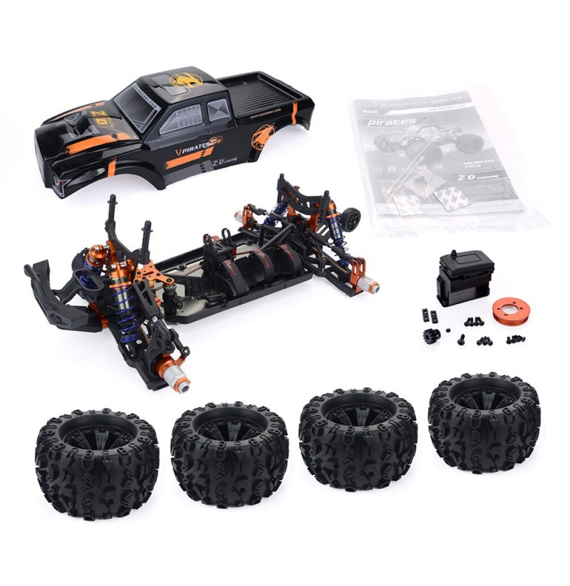 ZD Racing MT8 Pirates3 1/8 4WD 90km/h Brushless RC Car Kit without Electronic Parts фото