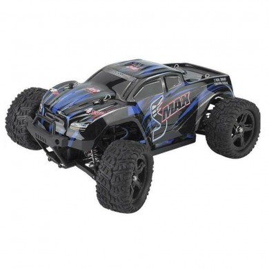 REMO 1635 1/16 2.4G 4WD Waterproof Brushless Off Road Monster Truck RC Car Vehicle Models Blue