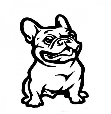 14x 8cm Bulldog Car Stickers Auto Truck Vehicle Motorcycle Decal