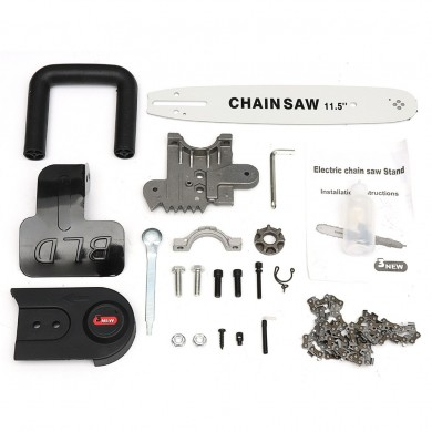 11.5 Inch Upgraded Third Electric Chainsaw Transfer Conversion Head Bracket Angle Grinder Set