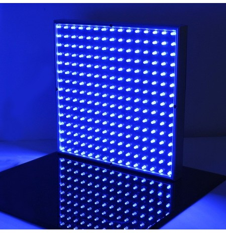 14W Square Full Blue LED Plant Growing Light Greenhouses Plant Seedling Lamp