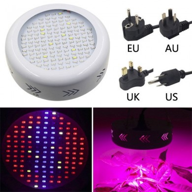 50W UFO Full Spectrum 132 LED Plant Grow Light Gardening Greenhouse Flower Seedling Lamp