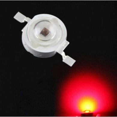 ZX 10pcs 1W 660nm Red Light Plant Growing DIY LED Lamp Chip Garden Greenhouse Seedling Lights