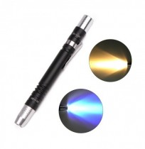 XANES® 1913 AAA Flashlight Multifunction Violet Light Fluorescence Detection Pen Camping Hunting Portable Torch Light