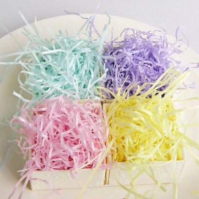 100g Colorful Shredded Tissue Paper Gifts Box Hamper Stuffing Filler