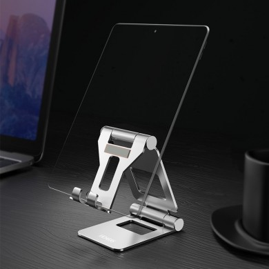 Lingchen Aluminum Alloy Foldable Rotatable Desktop Phone Holder Tablet Stand For Smart Phone Tablet PC iPhone Samsung iPad