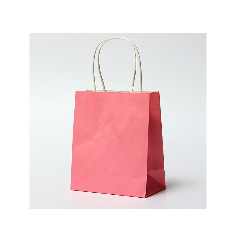 Wedding Paper Gift Bags: Colorful Kraft Paper Gift Bag Wedding Party Handle Paper