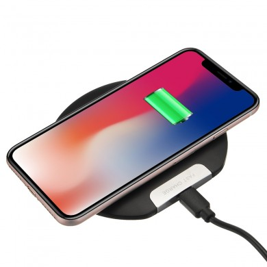 Ultra Thin 10W Qi Wireless Charger Fast Charging Phone Holder For Qi-enabled Devices Samsung Galaxy S10 Plus iPhone XS Max Huawe