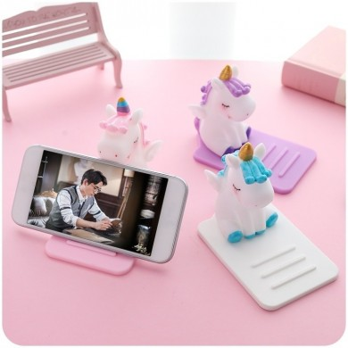 Universal Unicorn Desktop Phone Holder For Smart Phone iPhone Samsung Huawei Xiaomi LG Vivo Oppo