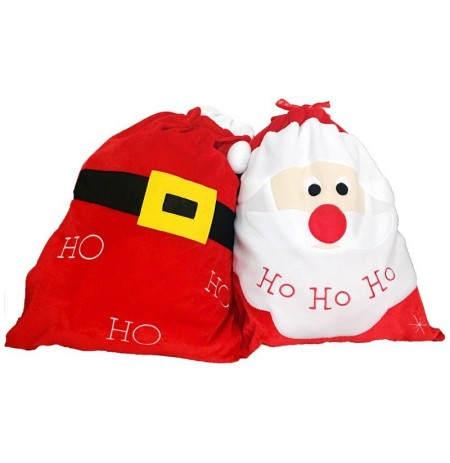 Christmas Stocking Decoration Santa Candy Bag Stocking Christmas Gift Bags Jewelry Candies Storage
