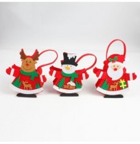Christmas Day Stocking Packing Gift Box Cute Santa Decoration Candy Box Stocking Christmas Gift Bags