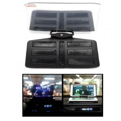 Car HUD GPS Navigation Mobile Phone Bracket Head Up Projector Holder Display